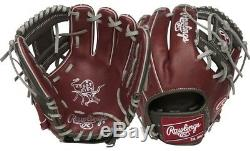Rawlings PRO204-2SHDS 11.5 Heart Of The Hide ColorSync Baseball Glove Infield