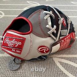 Rawlings PRONP4-USA 11.5 Heart Of The Hide Baseball Glove Infield Pro FLAG RARE