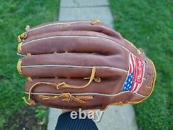 Rawlings Pro-tot USA Heart Of The Hide 12.75 Rht Vintage Baseball Glove Mint