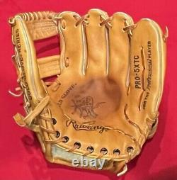 Rawlings Rare Pro Issue Made USA Heart of Hide PRO-5XTC Horween Baseball Glove