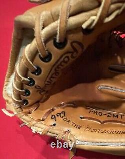 Rawlings made in USA Heart of Hide HOH Gold Pro-2MTC Baseball Glove Mitt Horween