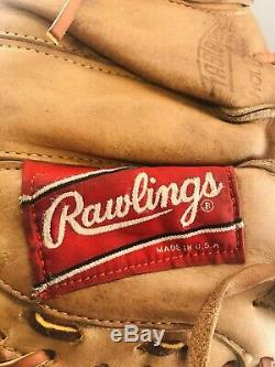 Relaced Rawlings Heart Of The Hide Horween Leather Catchers Mitt PRO-LTF