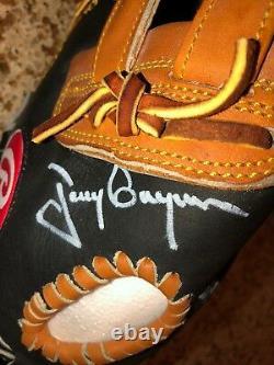 Tony Gwynn Signed Auto UDA Baseball Glove ball Rawlings Heart of Hide Upper Deck