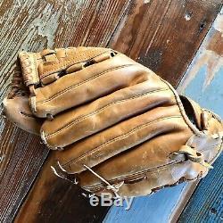 Vintage Rawlings USA Pro 1000b Heart Of The Hide Baseball Glove Mitt Nice